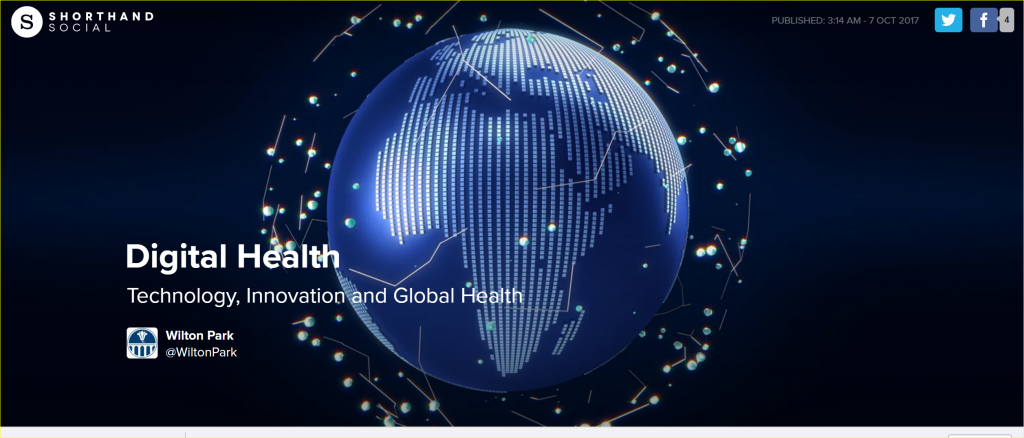 Artificial Intelligence and Global Health summit at Wilton Park, UK